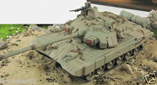 Fabbri T-90 1:72 MBT tank diecast camouflage model +mag №86 USSR Russian Tank
