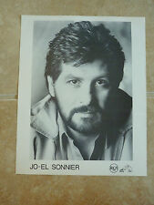 Jo-El Sonnier 8x10 Country Music Fan Club Photo Picture Page
