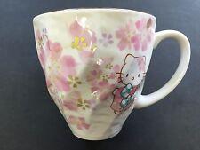 New Hello Kitty Sakura Cherry Blossoms Mug Cup MugCup MADE IN JAPAN
