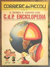 Corriere dei Piccoli N. 41 1967 hugo pratt fanfulla pattuglia fantasma pantofola