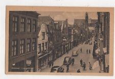 Alkmaar Langestraat Netherlands Vintage Postcard 822a