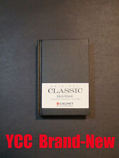 Cachet Classic Sketch Book -110s' 4 x 6 in(10.2x15.2 cm) Black hard cover #82421