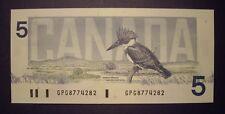 Canada 1986 BC-56c $5 Note GPG8774282 - GemUnc