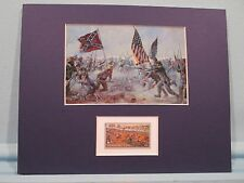 "Gettysburg - ""The Highwater Mark of the Confederacy""  honored by its own stamp"