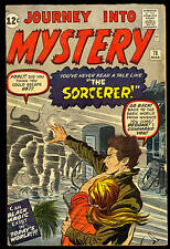 JOURNEY INTO MYSTERY #78 DR. STRANGE PROTOTYPE THE SORCERER DOCTOR ATLAS MARVEL