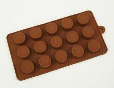 Caramel Cup Wheel Silicone Mould Chocolate Mini Candy Cake Decorating Wax Melt