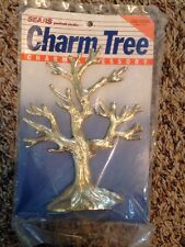 Vintage Brass With Gold Finish Charm Accessory Tree By SEARS Portrait Studio