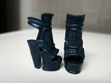 Barbie Doll Clothes/Shoes *Matte Lchunky High Heels *New* #658