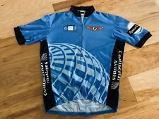 XXL Vomax made USA CONTINENTAL AIRLINES Houston Space City Cycling Jersey