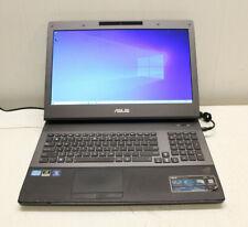 ASUS G74S i7 ROG GAMING LAPTOP COMPUTER win 10 17.3