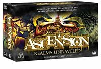 Ascension Realms Unraveled Board Game Card Stoneblade Ent SBE007 Factory Sealed
