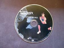 Insanity Core Cardio & Balance Workout Replacement Disc DVD - Shaun T