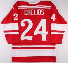 Chris Chelios Signed Jersey JSA Red Wings