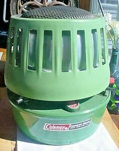 VINTAGE COLEMAN MODEL 513 A (1978) 8000 BTU CATALYTIC PORTABLE HEATER -USED