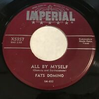 Fats Domino: All By Myself / Troubles Of My Own 45 - R&B