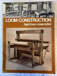 Loom Construction Hjert / Von Rosenstiel 1978 Paperback Book