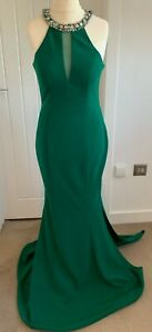 PIA MICHI GOWN IN GREEN SIZE 12 BNWT