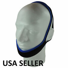 New Stop Snoring Chin Strap SNORE BELT Anti Apnea Jaw Solution Sleep TMJ Support