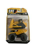 CAT Mini Machines Toy State Construction Yellow 3.5 inch Truck & Dozer  New