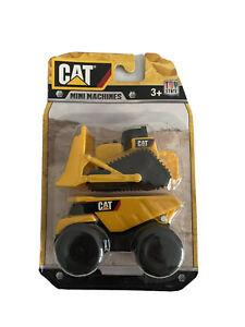 CAT Mini Machines Toy State Construction Yellow 3.5 inch Truck & Dozer  New