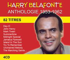 CD Harry Belafonte : Anthologie 1953-1962 - Coffret 4 CD