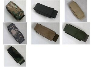 New Airsoft Molle Tactical 40mm Shell Single Utility Carrier Pouch