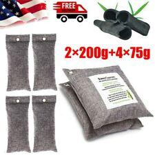 6 Bags Air Purifying Bag Purifier Nature Fresh Charcoal Bamboo Carbon Freshener