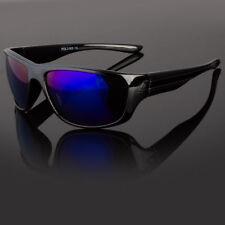 Wrap Around Polarized Sunglasses Mens Sport Running Fishing Golfing Driving Glas