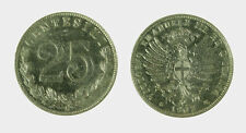 s535_17) Vittorio Emanuele III  (1901-1943) 25 Centesimi 1902 Valore Nickel