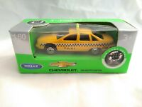 CHEVROLET CAPRICE NEW YOR TAXI ESCALA 1/60 IDEAL COLECCIONISTAS