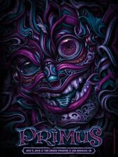 Primus Poster 7/5/18 Greek Theatre Los Angeles CA Signed & Numbered #40 Variant