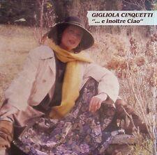 """Gigliola Cinquetti – """"... E Inoltre Ciao"""" - LP-176"""