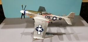 "CORGI (US34407) USAAF P-51D MUSTANG ""JOHN ELDER"" 1:32 SCALE DIECAST METAL MODEL"