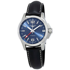 Longines Conquest GMT Automatic Blue Dial Mens Watch L36874992