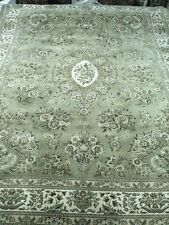 Rich Super Fine Hand Knotted, Wool and Silk Area Rug 6x9