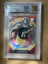 Markus Wheaton 2013 Topps Strata Red Rookie Auto 2/25 BGS 8.5 Steelers