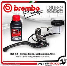 Pompa freno Brembo RCS 19 + Kit Serbatoietto+Olio 110A26370+110A26386+04816450