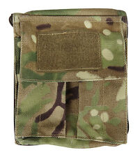A6 Tactical Organiser. Multicam Camo Army Style Folder.