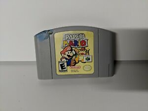 Paper Mario (Nintendo 64, 2001) N64 Cartridge Only Authentic Tested