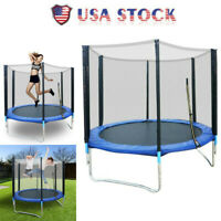 6 FT Kids Trampoline Safety Net Enclosure Jump Exercise Indoor Outdoor Toddlers1