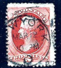 Non-Conforming US Postal Cancel = New York City Circular Date Stamp [CDS] Usage