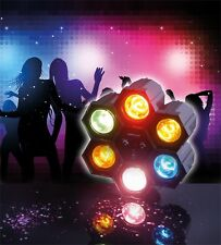 High Quality 6 Pod Party Disco Event DJ Bright Effects Light Moves To Sound