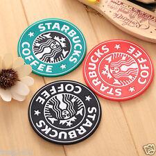 Cartoon Cute Silicone Heat Insulation Coaster Mat Starbucks Coffee Tea Cup Pad