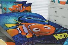 Finding Nemo Quilt Doona Duvet Cover Set Disney Bedding Kids Girls Boys Dory