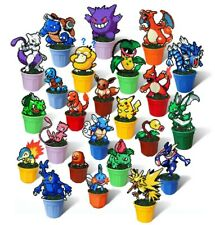 Pokemon Figure in Plant Pot, 8 Bit Plant, Pixel Art Decor, Hama Beads Figurine