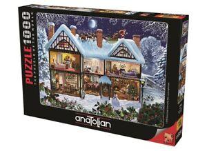 Anatolian Puzzle 1000 Teile- Das Haus der Weihnachtszeit Puzzle Größe 66x48cm(H)
