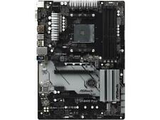 ASRock B450 PRO4 AM4 AMD Promontory B450 SATA 6Gb/s USB 3.1 HDMI ATX AMD Motherb