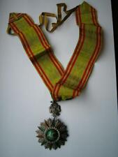 Ottoman Tunisia France Order Nichan Iftikah Glory Neck badge medal Ali Bey 1882