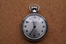 SUPERB INGERSOLL POCKET WATCH WITH SILVER DIAL