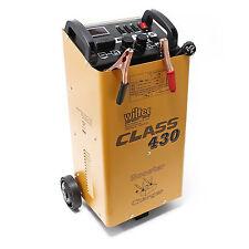 WilTec Batterieladegerät 12V 24V Ladegerät Akkuladegerät Boost 430 Motorrad LKW